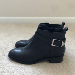 ASOS buckle ankle boots